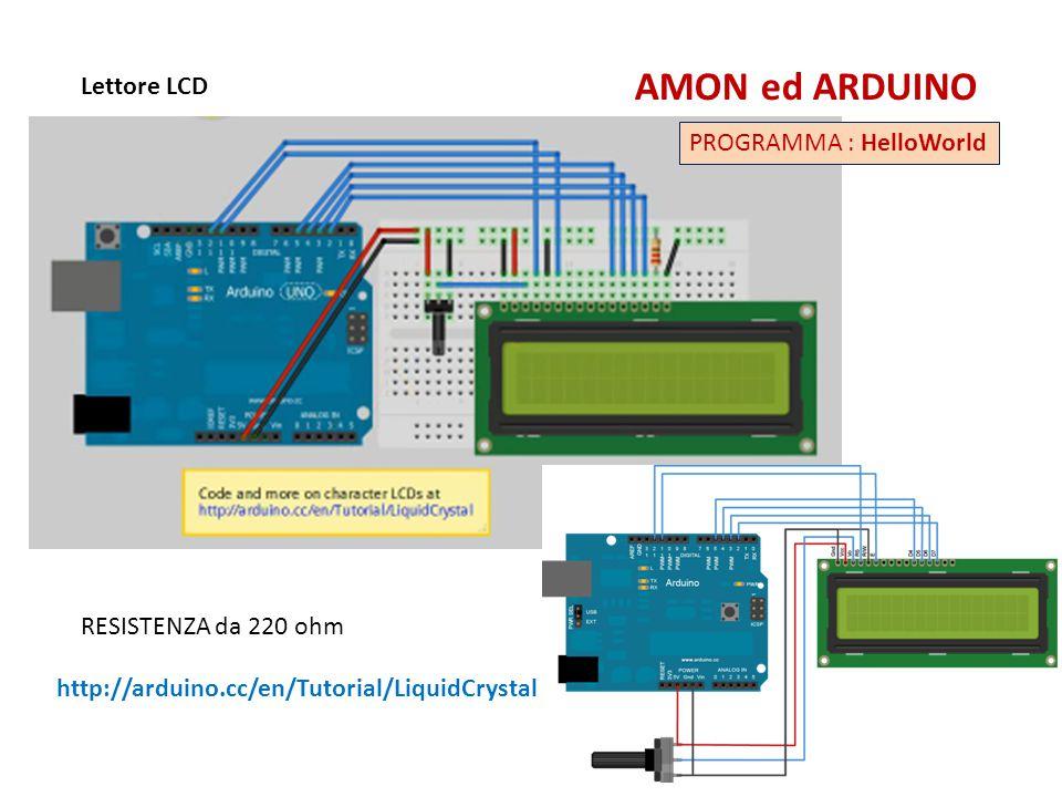 Un Servo con Potenziometro AMON ed ARDUINO PROGRAMMA : Servo_con_Potenziometro http://www.mauroalfieri.it/elettronica/tutorial-arduino-servo-2.html