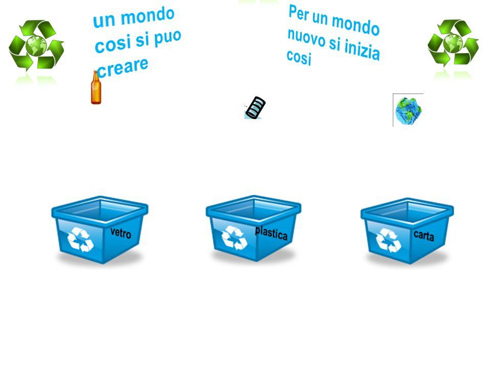 IL RICLAGGIO DEI RIFIUTI Possono essere riciclate materie prime, semilavorati, o materie di scarto derivanti da processi di lavorazione, da comunità di ogni genere (città, organizzazioni, villaggi turistici, ecc), o da altri enti che producono materie di scarto che andrebbero altrimenti sprecate o gettate come rifiuti.materie primesemilavoratienti Il riciclaggio previene lo spreco di materiali potenzialmente utili, riduce il consumo di materie prime, e riduce l utilizzo di energia, e conseguentemente l emissione di gas serra.energiagas serra Il riciclaggio è un concetto chiave nel moderno trattamento degli scarti ed è un componente insostituibile nella gerarchia di gestione dei rifiuti.gestione dei rifiuti