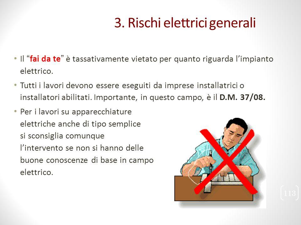 """Il """"fai da te"""" è tassativamente vietato per quanto riguarda l'impianto elettrico. Tutti i lavori devono essere eseguiti da imprese installatrici o ins"""