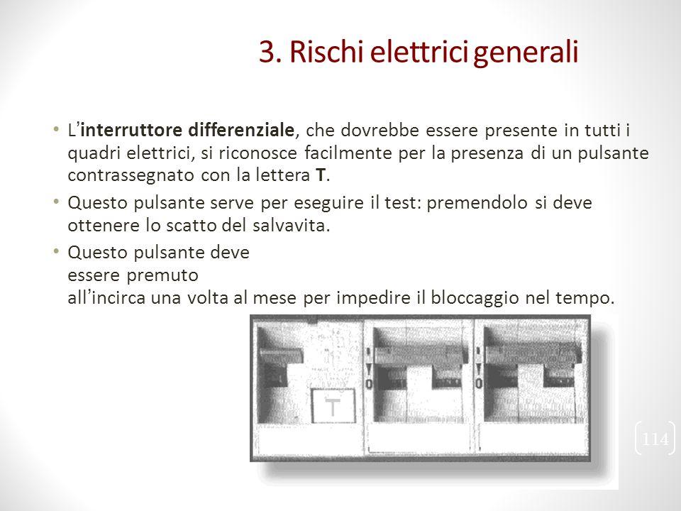 L'interruttore differenziale, che dovrebbe essere presente in tutti i quadri elettrici, si riconosce facilmente per la presenza di un pulsante contras