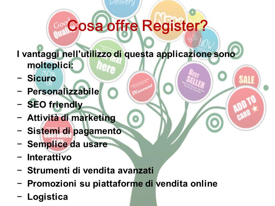 Cosa offre Register.