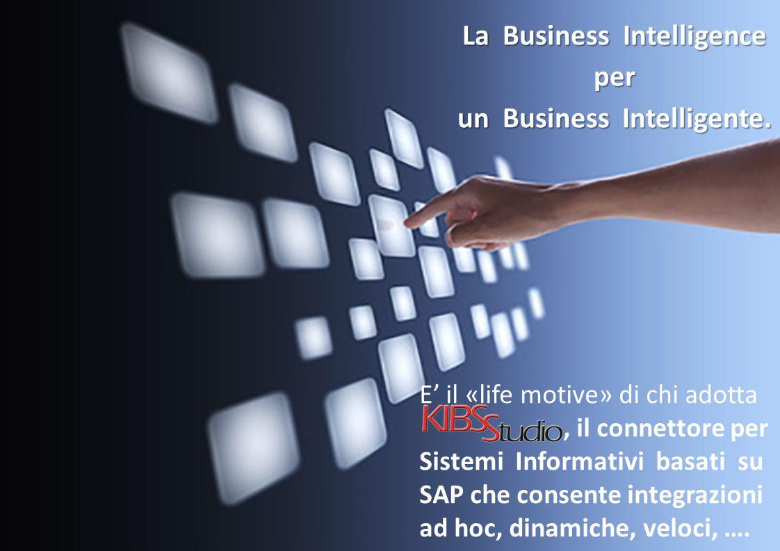 E' il «life motive» di chi adotta, il connettore per Sistemi Informativi basati su SAP che consente integrazioni ad hoc, dinamiche, veloci, …. La Busi