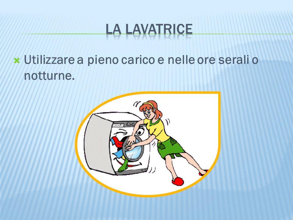  Non abbassare la temperatura del frigorifero sotto i 3°C; non aprire inutilmente lo sportello; sbrinare il congelatore regolarmente, non mettere dentro cibi caldi; non riempirlo troppo.