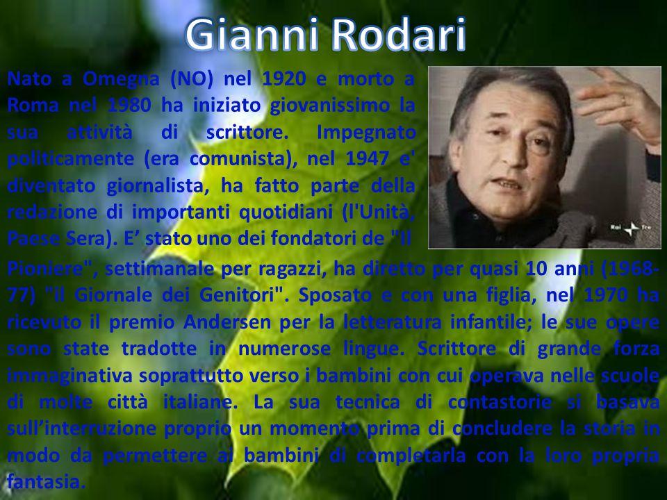 Nato a Omegna (NO) nel 1920 e morto a Roma nel 1980 ha iniziato giovanissimo la sua attività di scrittore. Impegnato politicamente (era comunista), ne