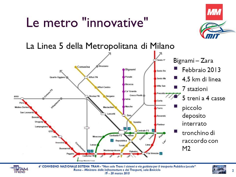 23 6° CONVEGNO NAZIONALE SISTEMA TRAM - Non solo Tram: I sistemi a via guidata per il trasporto Pubblico Locale Roma – Ministero delle Infrastrutture e dei Trasporti, sala Emiciclo 19 – 20 marzo 2015