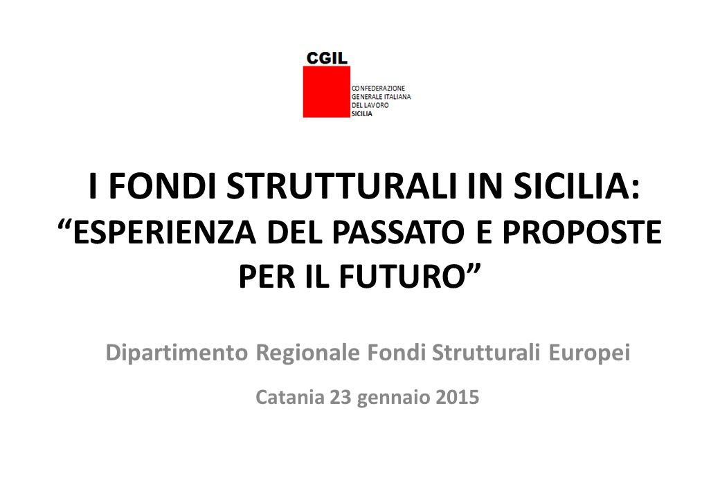 PO FESR- Certificazione della spesa al 31/12/2014 Fonte : Dipartimento della Programmazione della Regione Siciliana Pagina 11 Asse prioritario Costo totale del Programma (euro) Spesa certificata al 31.12.2014 (euro) 1.