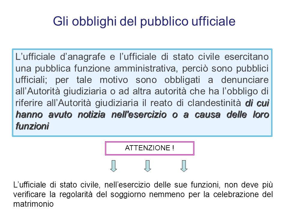 Gli obblighi del pubblico ufficiale Art. 331. C.P.P. Denuncia da parte di pubblici ufficiali e incaricati di un pubblico servizio 1 … i pubblici uffic