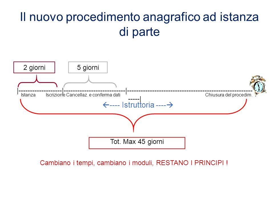 Iscrizione anagrafica in tempo reale le nuove regole Dal 9 maggio 2012 sono radicalmente cambiate le regole per i procedimenti di iscrizione, variazio