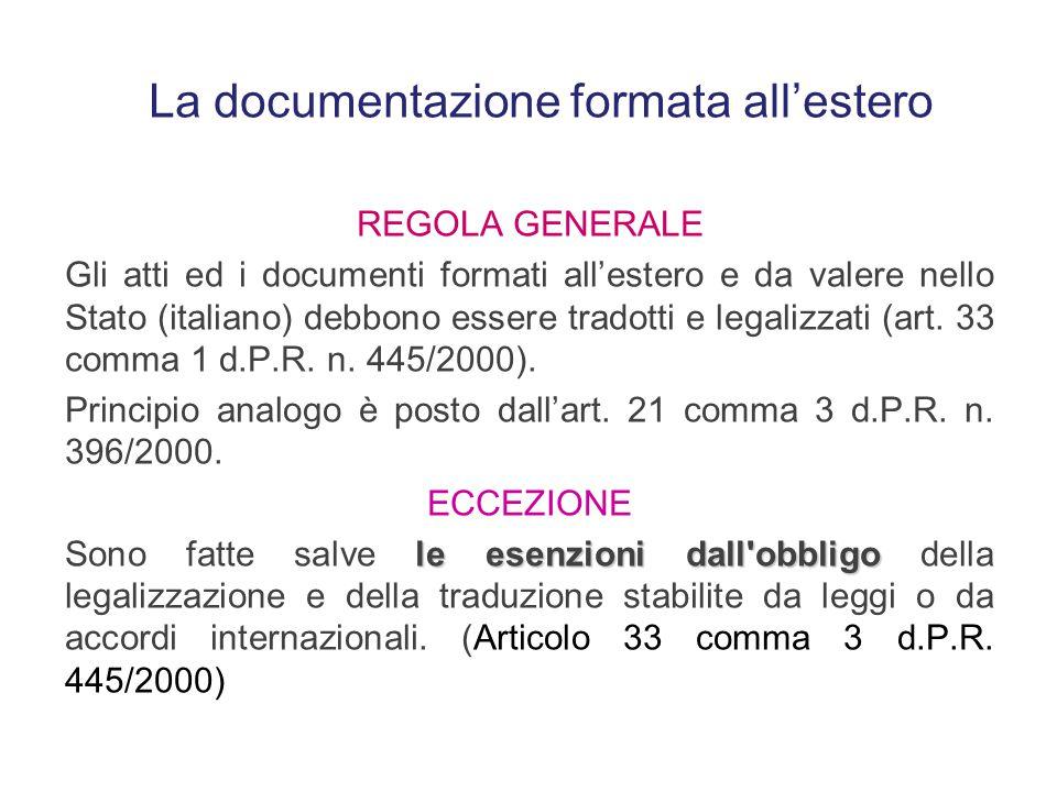 anche se è cittadino italiano Chi trasferisce la residenza dall'estero, anche se è cittadino italiano, è soggetto al principio posto dall'art. 14 del