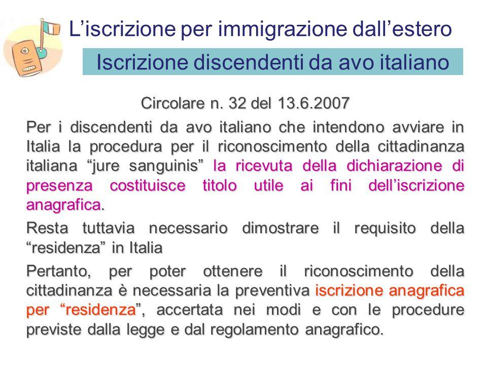 Disposizioni a favore dei minori (art. 31 T.U. n. 286/1998) Il figlio minore dello straniero con questi convivente e regolarmente soggiornante è iscri
