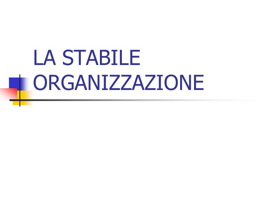 La nozione di stabile organizzazione, tracciata dall art.
