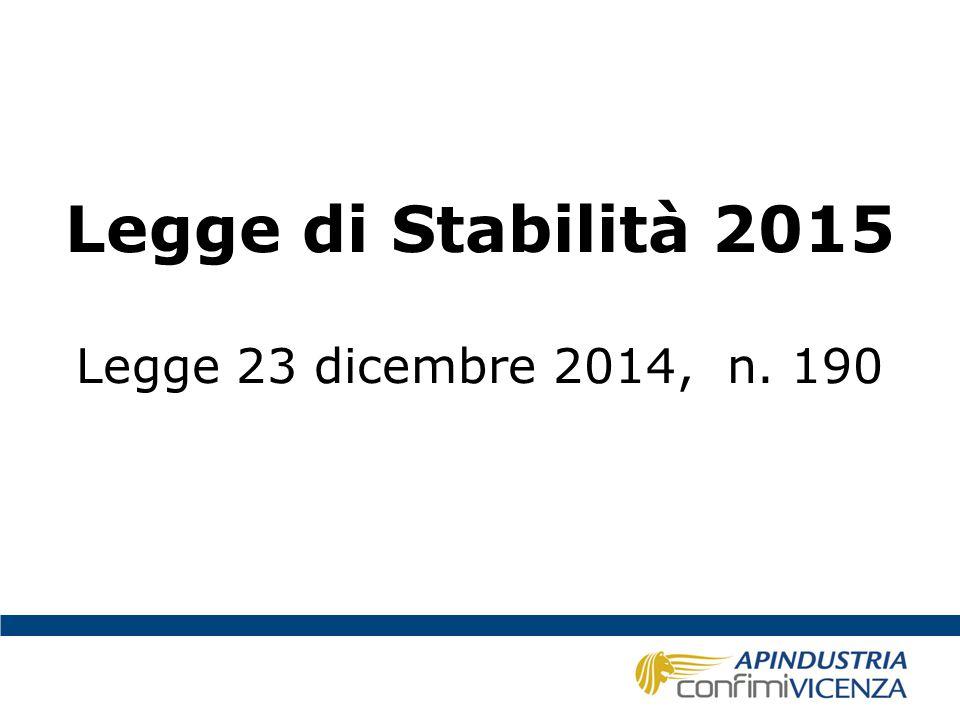 Stabilità – Bonus 80 € Il Bonus di 80 €, per i contribuenti a basso reddito è diventato strutturale (non vi sono più termini di scadenza); la norma a regime è quasi identica a quella introdotta con Decreto-Legge 66/2014.