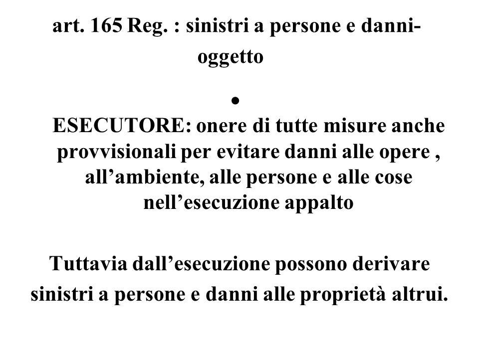 art. 165 Reg.