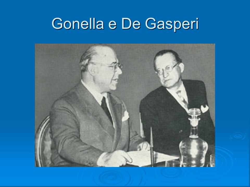 Gonella e De Gasperi
