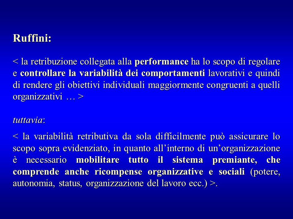 tuttavia:.. Ruffini: