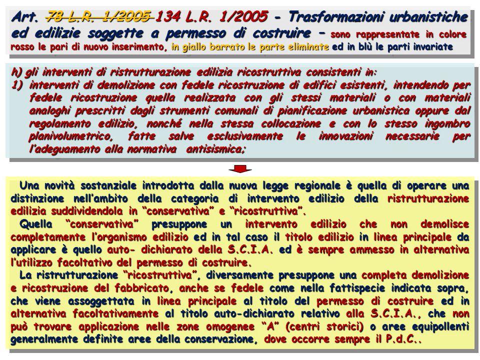 Art. 78 L.R. 1/2005 134 L.R.