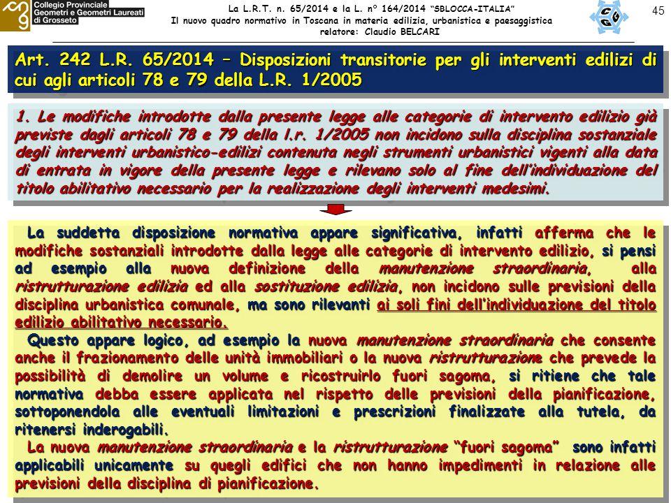 45 Art. 242 L.R.