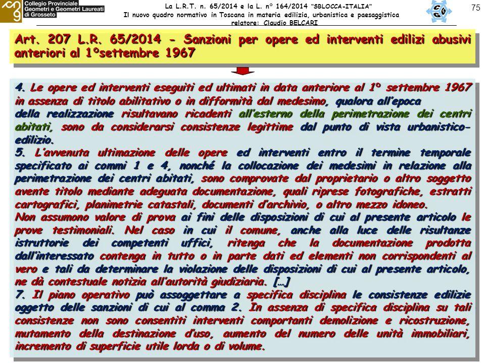 75 Art. 207 L.R.