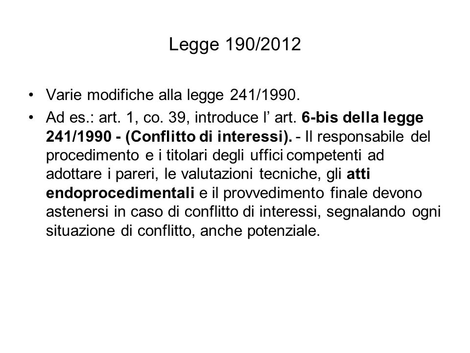 Art.14 Obblighi di pubblicazione concernenti i componenti degli organi di indirizzo politico 1.