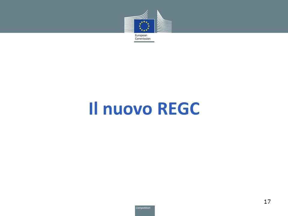 Il nuovo REGC 17