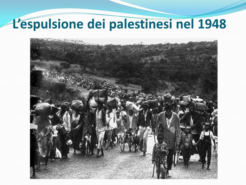 L'espulsione dei palestinesi nel 1948