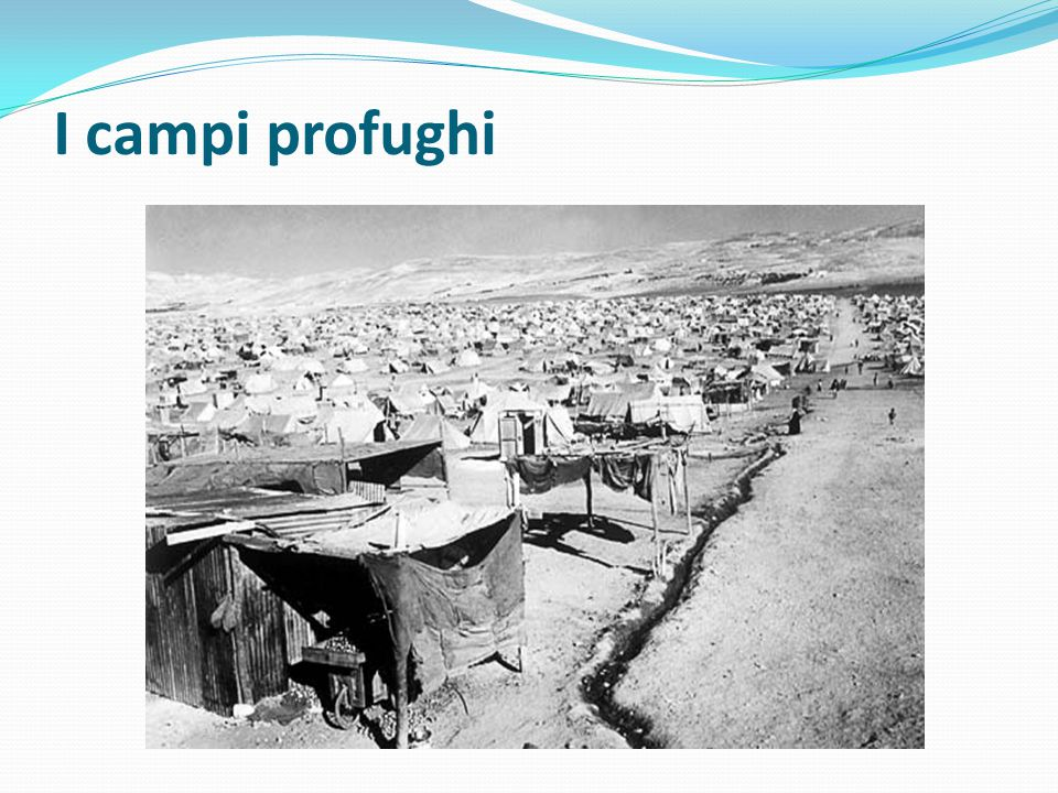 I campi profughi