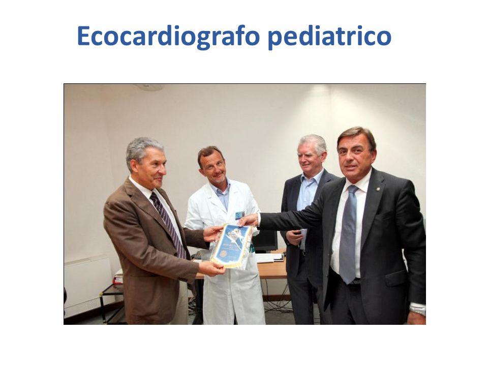 Ecocardiografo pediatrico
