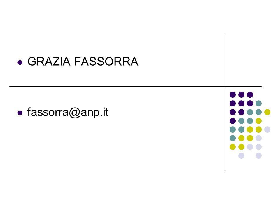 GRAZIA FASSORRA fassorra@anp.it