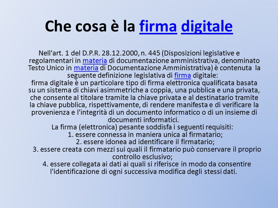 Informazioni tutelate dalla privacy DecretoDecreto Legislativo del 30.6.2003, n.