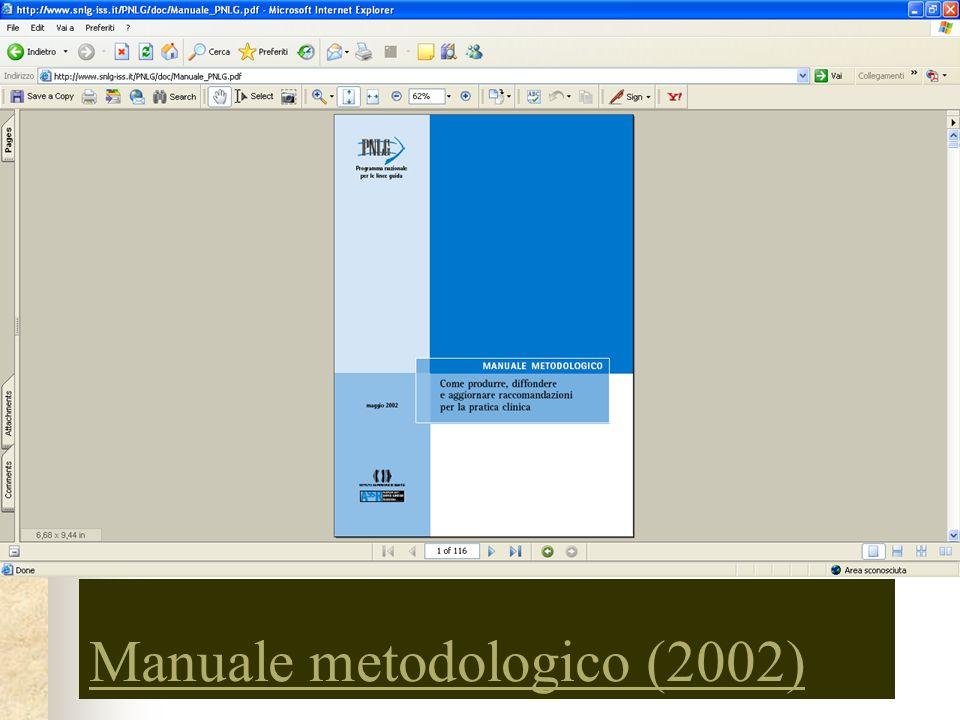Manuale metodologico (2002)