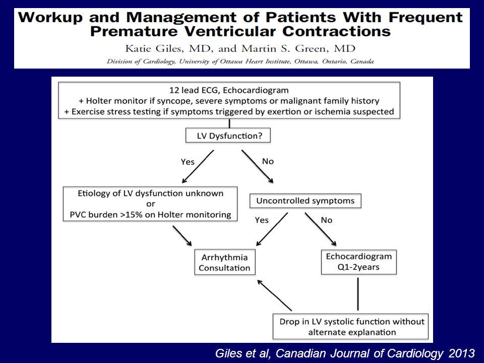 Giles et al, Canadian Journal of Cardiology 2013