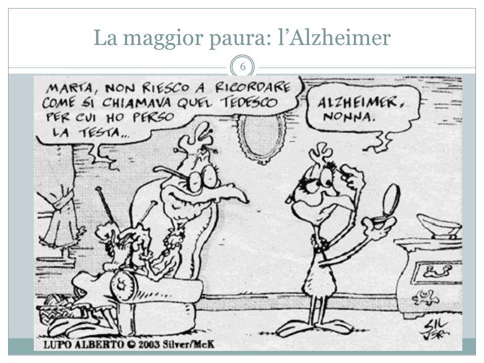 La maggior paura: l'Alzheimer 6