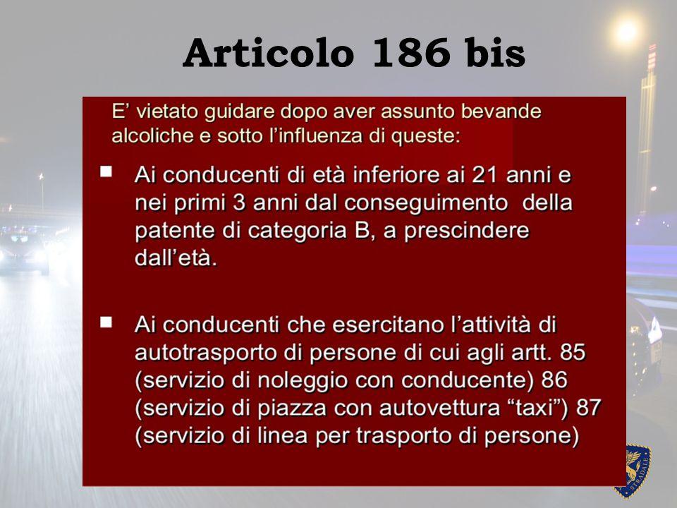 Articolo 186 bis