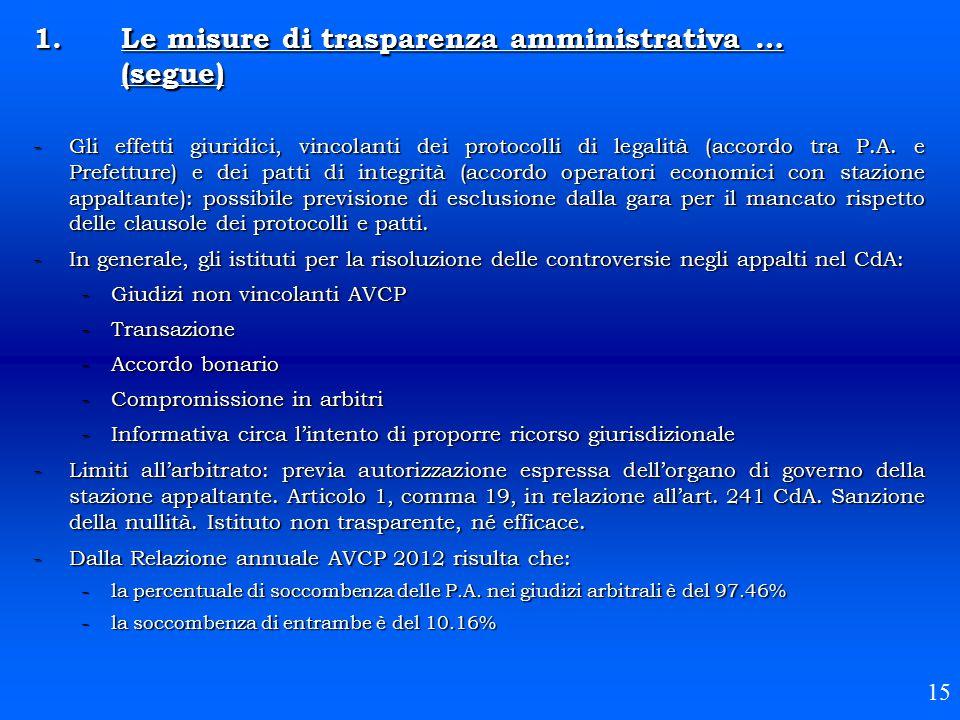 -Gli effetti giuridici, vincolanti dei protocolli di legalità (accordo tra P.A. e Prefetture) e dei patti di integrità (accordo operatori economici co