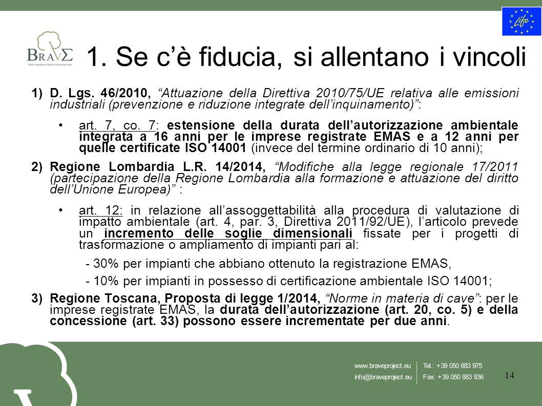 1)D. Lgs.
