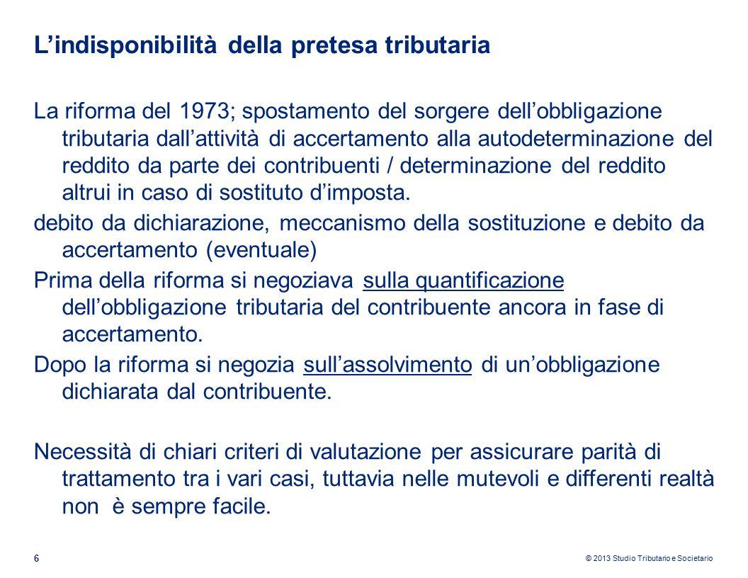 © 2013 Studio Tributario e Societario L'IVA quale tributo sovranazionale 7