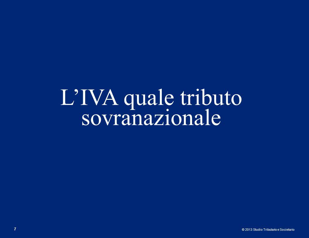 © 2013 Studio Tributario e Societario Distinzione dei privilegi (Art.
