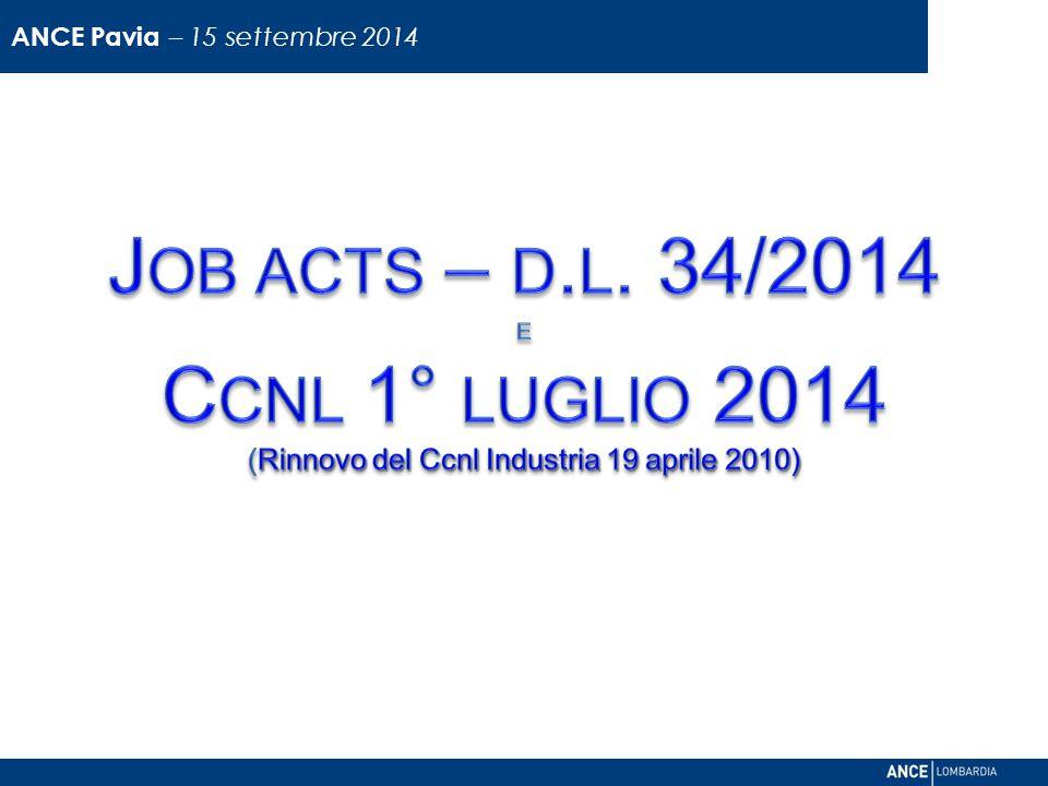 ANCE Pavia – 15 settembre 2014