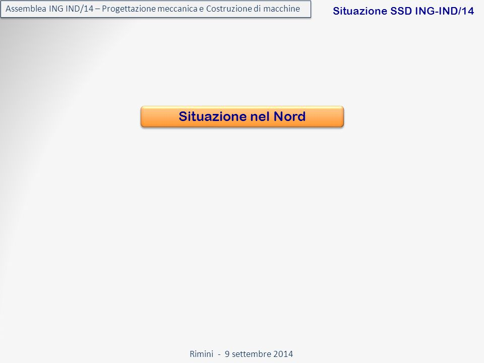 Rimini - 9 settembre 2014 Assemblea ING IND/14 – Progettazione meccanica e Costruzione di macchine L'Ar.Tec.