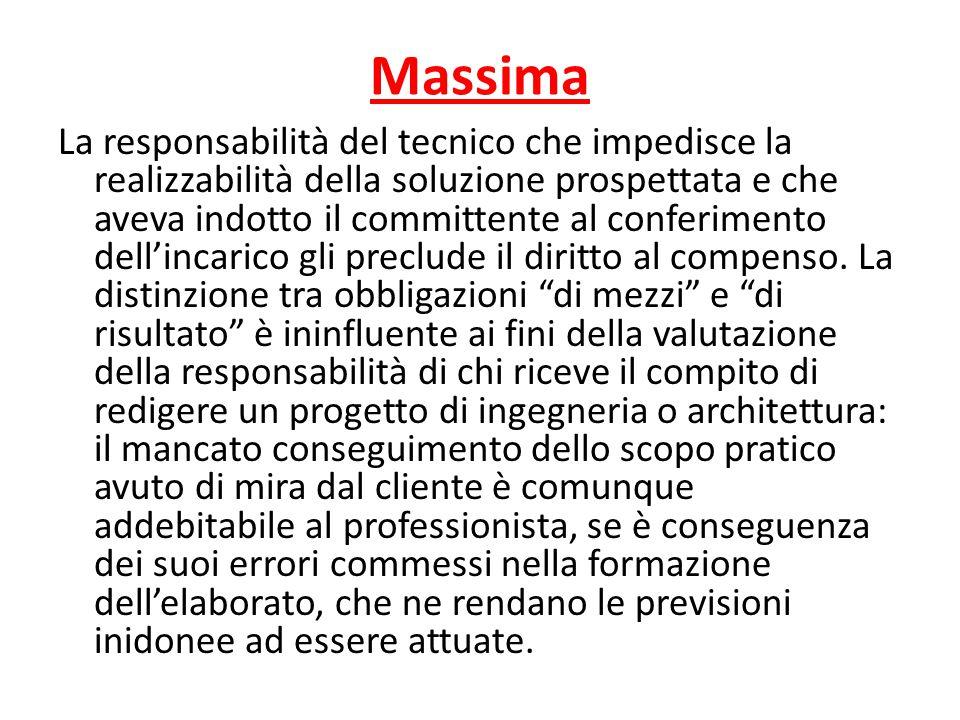 Soggetti coinvolti Fatto L'architetto Tizia ottiene un decreto ingiuntivo nei confronti della S.r.l.