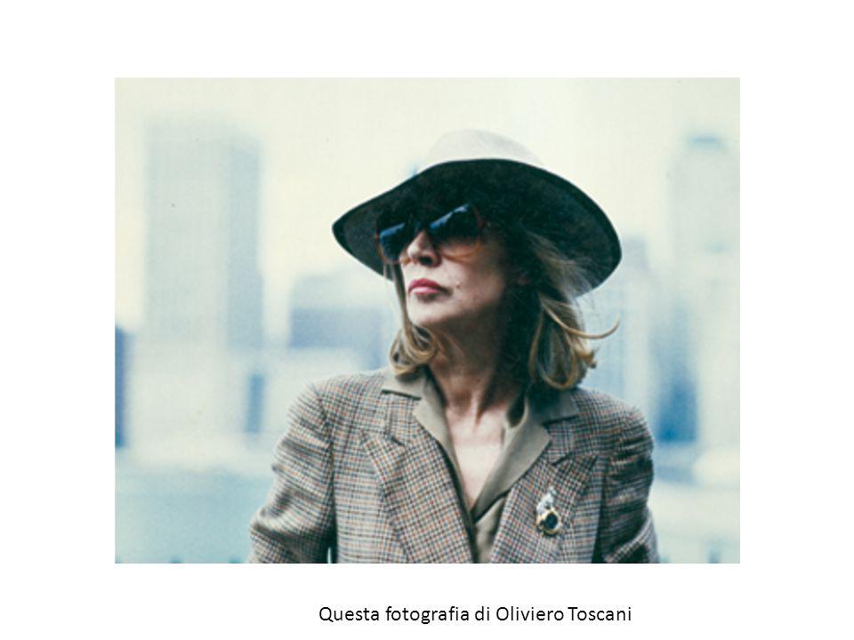 Questa fotografia di Oliviero Toscani