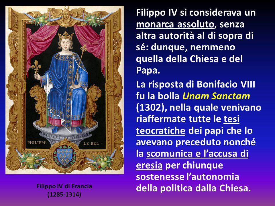 Filippo IV si considerava un monarca assoluto, senza altra autorità al di sopra di sé: dunque, nemmeno quella della Chiesa e del Papa. La risposta di