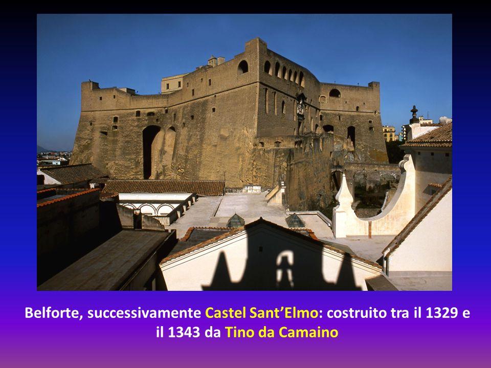 La Certosa di San Martino, completata nel 1368, anche se i lavori di ampliamento continuarono fino a tutto il Settecento