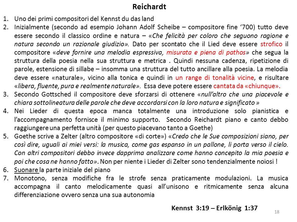 1.Uno dei primi compositori del Kennst du das land 2.Inizialmente (secondo ad esempio Johann Adolf Scheibe – compositore fine '700) tutto deve essere
