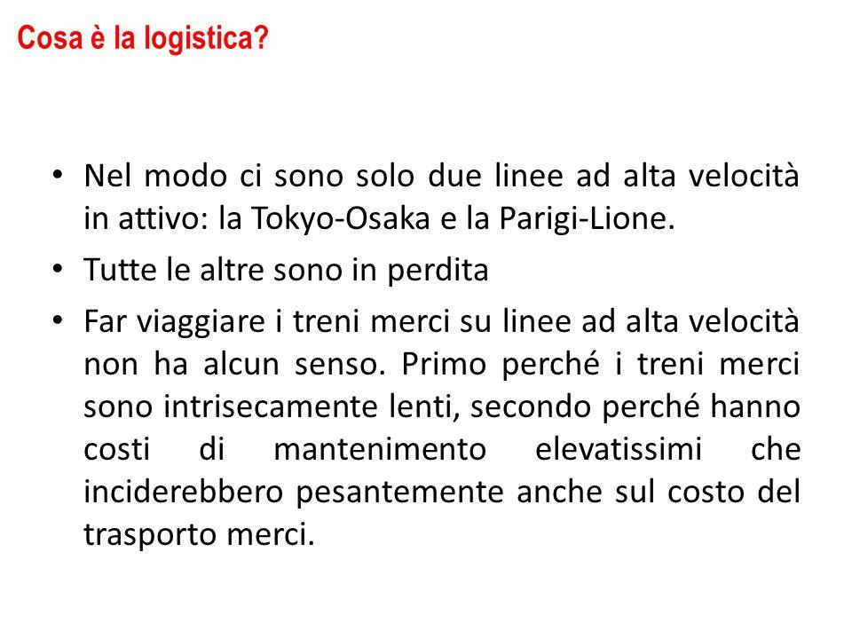 Nel modo ci sono solo due linee ad alta velocità in attivo: la Tokyo-Osaka e la Parigi-Lione.