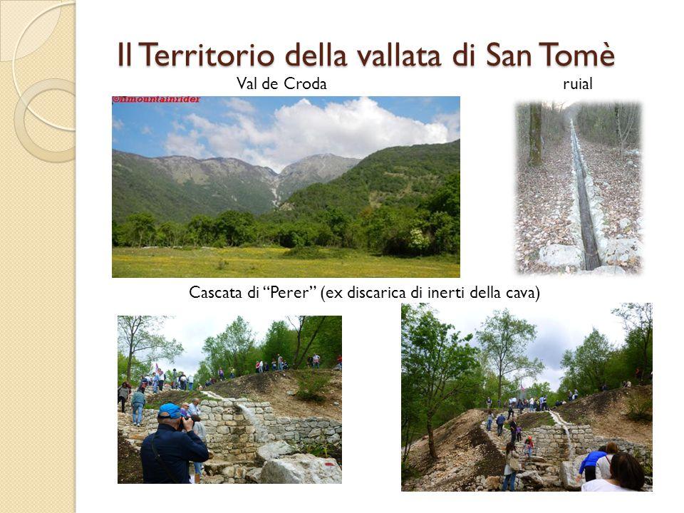 """ruial Cascata di """"Perer"""" (ex discarica di inerti della cava) Val de Croda"""