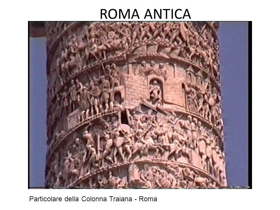 ROMA ANTICA La Colonna Aureliana è dedicata alle imprese contro i Germani e i Sarmati.