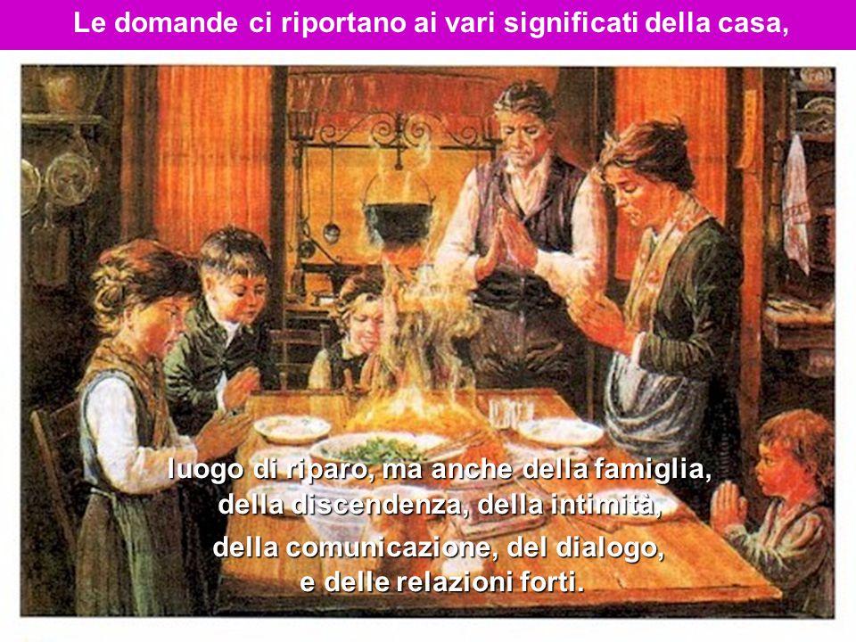 L'Angelo spiegando a Maria la sua sorprendente maternità rievoca il linguaggio del profeta Natan rivolto a Davide, Caravaggio per cui Maria è presentata come casa di Dio , Cittadella di Sion, al cui interno è ospitata la Santa Presenza di Dio .