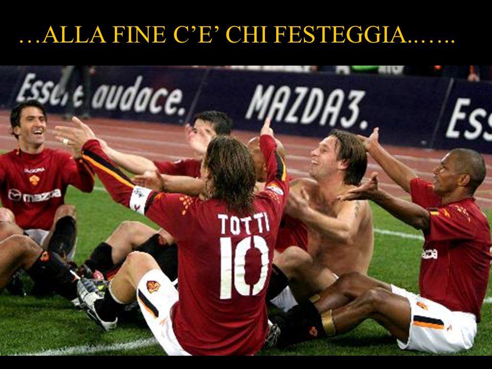 …ALLA FINE C'E' CHI FESTEGGIA..…..