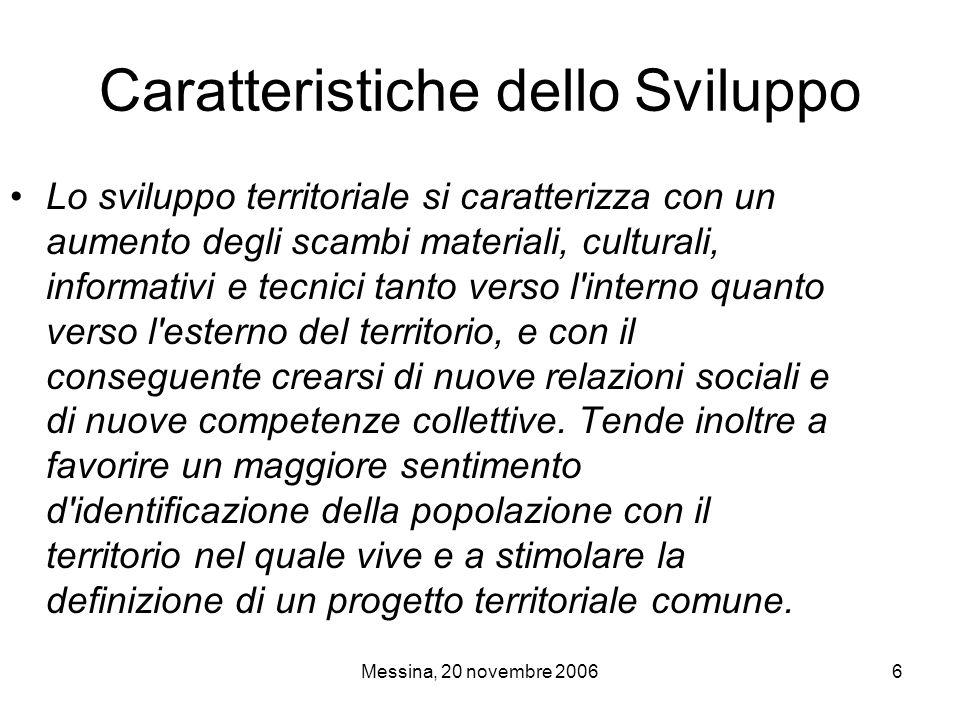 Messina, 20 novembre 20067